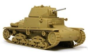 M13/40カーロ・アルマート 組み立て完了