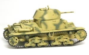 M13/40カーロ・アルマート 迷彩塗装
