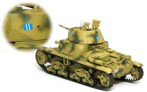 M13/40カーロ・アルマート デカール貼り
