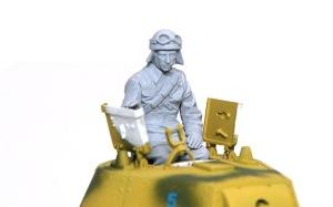 M13/40カーロ・アルマート フィギュアの組み立て