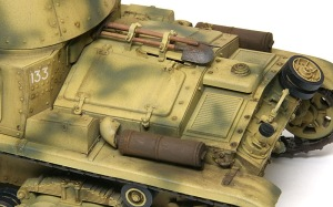 M13/40カーロ・アルマート 細部の塗分け