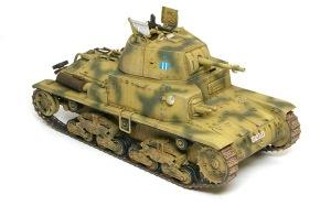 M13/40カーロ・アルマート ドライブラシ
