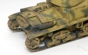 M13/40カーロ・アルマート 仕上げの汚し
