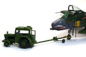アメリカ・現用空軍サポートチーム トレーラー