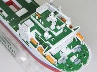 地球深部探査船ちきゅうの船首
