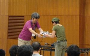 中京AFVの会2009 ジュニア・レディース賞のアキトさん