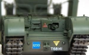 チャーチルMk.3工兵戦闘車 印刷がずれてしまっているデカール