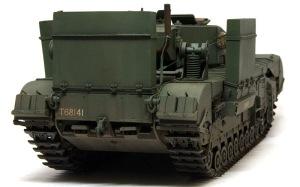 チャーチルMk.3工兵戦闘車 ウオッシング
