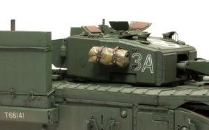 チャーチルMk.3工兵戦闘車 ドライブラシ