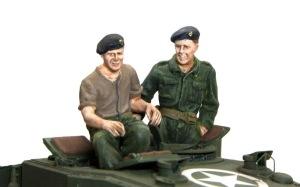チャーチルMk.3工兵戦闘車 フィギュアの塗装