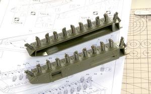 チャーチルMk.3工兵戦闘車 サスペンション