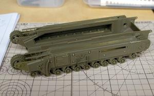 チャーチルMk.3工兵戦闘車 シャーシの組立て