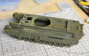 チャーチルMk.3工兵戦闘車 車体の組立て