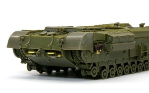 チャーチルMk.3工兵戦闘車 車体後部の組立て