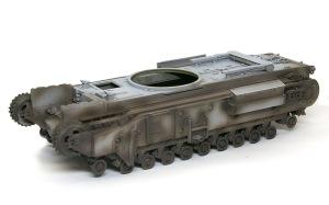 チャーチルMk.3工兵戦闘車 影吹き