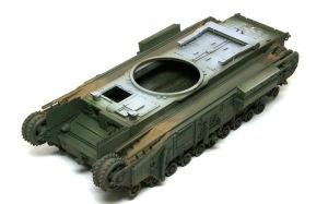 チャーチルMk.3工兵戦闘車 泥汚れを先につけておく