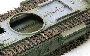 チャーチルMk.3工兵戦闘車 履帯の取り付け