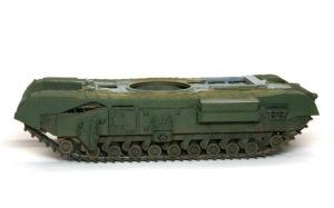 チャーチルMk.3工兵戦闘車 フェンダーの取り付け
