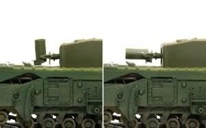 チャーチルMk.3工兵戦闘車 ペタード砲