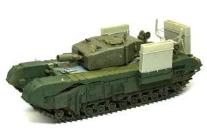 チャーチルMk.3工兵戦闘車 組立て完了