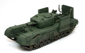 チャーチルMk.3工兵戦闘車 基本塗装