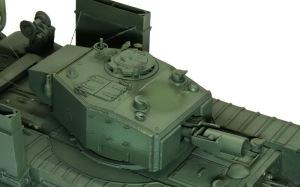 チャーチルMk.3工兵戦闘車 デカールの下地としてクリアを吹く