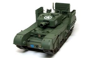 チャーチルMk.3工兵戦闘車 デカール貼り