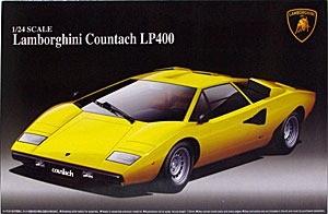 ランボルギーニ・カウンタックLP400 1/24 アオシマ