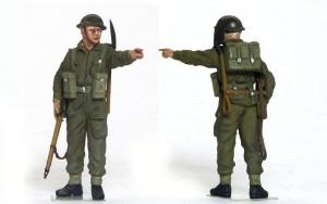 チャーチル・クロコダイル イギリス歩兵