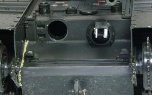 チャーチル・クロコダイル 火炎放射器のカバー