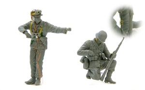 アフリカ軍団歩兵 ディテールアップ