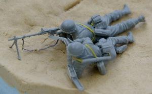 アフリカ軍団歩兵 ベルト、スリングの追加