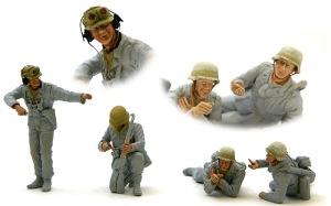アフリカ軍団歩兵 顔の塗装