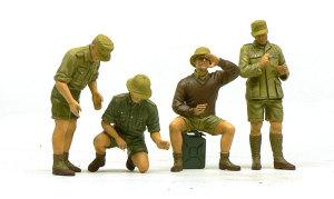 ドイツ・アフリカ軍団 服の塗装完了