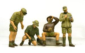 ドイツ・アフリカ軍団 塗装完了