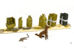 ドイツ・アフリカ軍団 アクセサリー