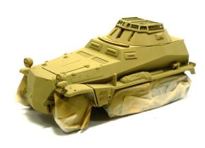 Sd.kfz.250/9  ダークイエローで基本塗装