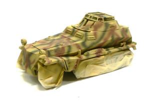 Sd.kfz.250/9 迷彩塗装
