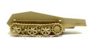 Sd.kfz.250/9 デマーグ の足まわりの組み立て。