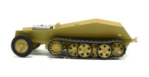 Sd.kfz.250/9 の足まわりの塗装