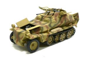 Sd.kfz.250/9 迷彩塗装完了