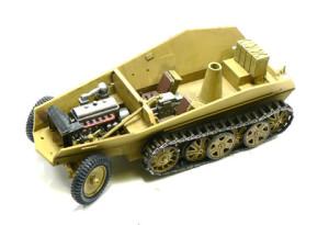 Sd.kfz.250/9 デマーグの車体内部の製作