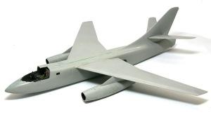 ダグラス・デストロイヤー 機体の組み立て