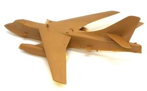 ダグラス・デストロイヤー 機体上面の基本塗装