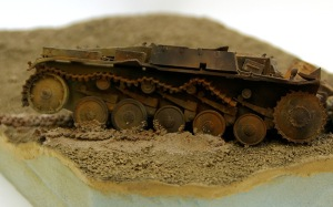 Schlagen Sie Zurück 2号戦車を埋める