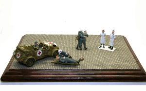 Feldkrankenhaus(野戦病院) Diorama #9 もらったジオラマベース