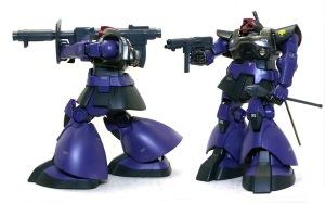 MS-09ドム 武器の制作