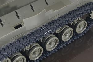 M42A1ダスター自走高射機関砲 履帯はホチキス留め(;^ω^)
