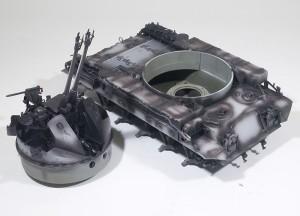 M42A1ダスター自走高射機関砲 影色
