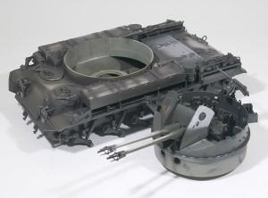 M42A1ダスター自走高射機関砲 基本塗装(暗色)